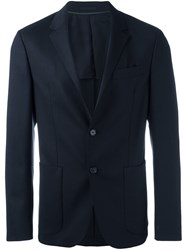 Z Zegna Formal Blazer Blue