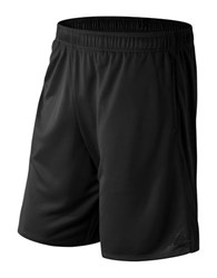 New Balance Knit Athletic Shorts Black