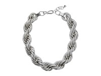 Robert Lee Morris Rope Chain Necklace Silver Necklace