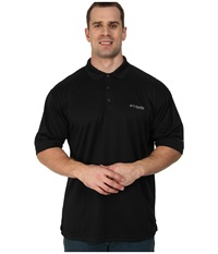 Columbia Perfect Cast Polo Tall Black Men's Clothing