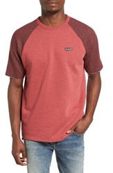 Hurley Men's Beach Club Mesa T Shirt Cedar