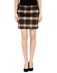 Tommy Hilfiger Mini Skirts Cocoa