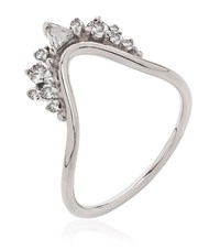 Fernando Jorge Fusion Small Wave Ring Female Silver
