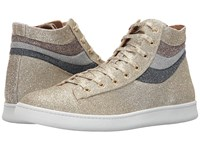Marc Jacobs Wave High Top Gold Combo Men's Shoes