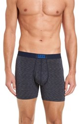 Saxx Men's Ultra Boxer Briefs Navy Galaxy Heather