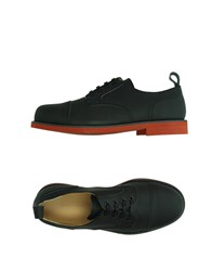 Carven Footwear Lace Up Shoes Men Black