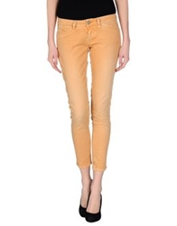 Two Women In The World Denim Pants Apricot