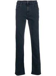 7 For All Mankind Performance Rinse Jeans Blue