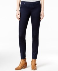 Jessica Simpson Kiss Me Dark Blue Wash Jeggings Rinse