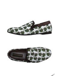 Dolce And Gabbana Footwear Moccasins Men White