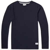Norse Projects Long Sleeve Niels Basic Tee Navy