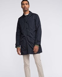 Aspesi Raincoat Limone Navy Blue