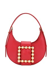 Les Petits Joueurs Cindy Smooth Leather Bag Ruby