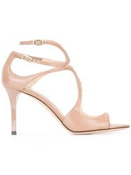 Jimmy Choo Ivette Sandals Nude Neutrals