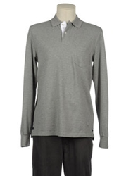 Etiqueta Negra Polo Shirts Grey