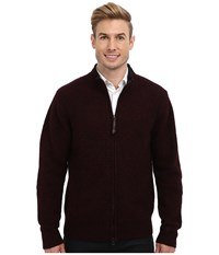 Pendleton Weekender Zip Front Cardigan Black Men's Sweater