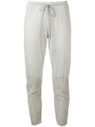 Lost And Found Rooms Cropped Leggings Grey