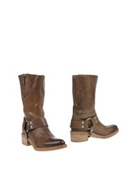Vic Footwear Ankle Boots Women Khaki