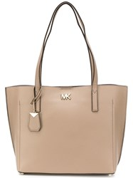 Michael Michael Kors Ana Tote Bag Nude And Neutrals