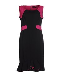 Maria Grazia Severi Dresses Knee Length Dresses Women Black