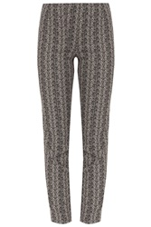 Paul And Joe Feather Print Trousers