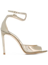 Jimmy Choo Lane Sandals Metallic