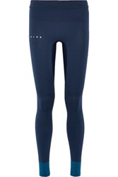 Falke Ergonomic Sport System Stretch Jersey Leggings Petrol