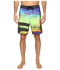 Hurley Phantom Block Party Niuolahiki 19 Boardshorts Multi Men's Swimwear