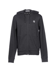 Bikkembergs Sweatshirts Steel Grey