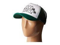 San Diego Hat Company Slw1007 Sublimated Good Vibes Trucker Green Caps