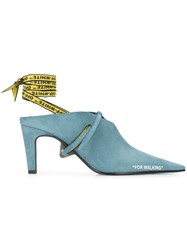Off White For Walking Mules Blue