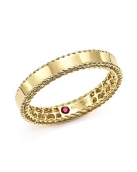 Roberto Coin 18K Yellow Gold Symphony Braided Edge Ring