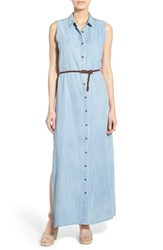 Women's Kut From The Kloth 'Victoria' Denim Maxi Dress