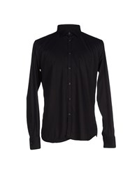 Etichetta 35 Shirts Shirts Men Black
