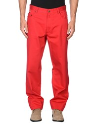 Paul And Shark Trousers Casual Trousers Men Red