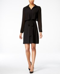 Ny Collection Popover Shirtdress