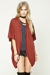 Forever 21 Dolman Sleeve Cocoon Cardigan
