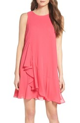 Eliza J Women's Asymmetrical Swing Dress Pink