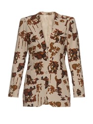 Bottega Veneta Broken Print Jacket Grey Print