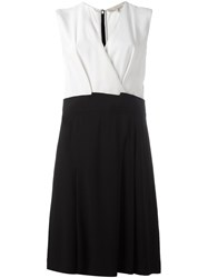 Vanessa Bruno Envelope Neck Mid Dress Black