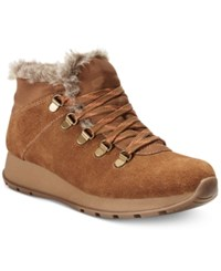 Bare Traps Grazie Lace Up Cold Weather Booties Women's Shoes Whiskey