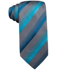 John Ashford Scott Stripe Tie Only At Macy's Aqua