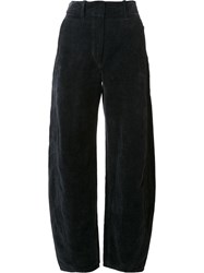 Christophe Lemaire 'Large Twisted' Trousers Black