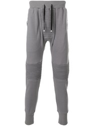 Unconditional Piped Detail Trousers Grey