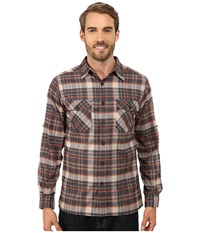 Royal Robbins Boulder Plaid Long Sleeve Shirt Eclipse Men's Long Sleeve Button Up Olive