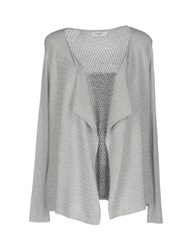 Axara Paris Cardigans Light Grey