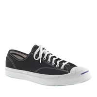 J.Crew Men's Converse Jack Purcell Signature Sneakers Black