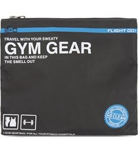 Flight 001 Go Clean Gym Gear Bag Charcoal