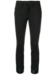 Cambio Slim Fit Trousers Black