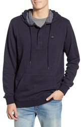 Rvca Lupo Pullover Hoodie New Navy